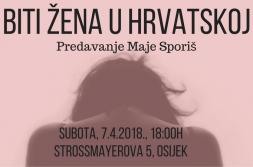 """""""Biti žena u Hrvatskoj"""""""